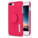 iPhone 7P/8P New Pop Holder Impact Protective Case Pink/White