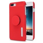 iPhone 7P/8P New Pop Holder Impact Protective Case Red/White