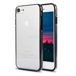 iPhone 8/7 Front and Back Full Cover Case Black