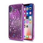Sasmung Galaxy S7 Edge Liquid Quicksand Case Purple