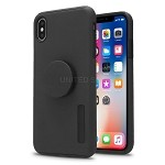iPhone X/XS New Pop Holder Impact Protective Case Black/Black