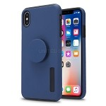 iPhone X/XS New Pop Holder Impact Protective Case Dark Blue/Black