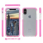 iPhone XS/X New Impact Protective Case Pink