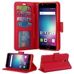 BLU Life One X2 L0090UU Wallet Case Red