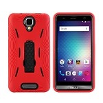 BLU  Studio Max S0310UU Heavy Duty Case With Kickstand Red/Black