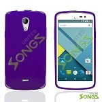 BLU Studio C D830U TPU(Gel) Case Purple