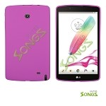 LG G Pad F8.0 V495 TPU(Gel) Case Hot Pink