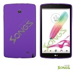 LG G Pad F8.0 V495 TPU(Gel) Case Purple