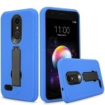 LG K30 Heavy Duty Case With Kickstand Blue/Black