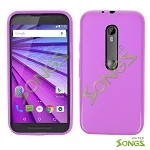 Motorola G(3rd-Gen) TPU(Gel) Case Purple