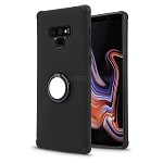 Samsung Galaxy Note 9 New Hybrid Case With Ring Holder Kickstand Black