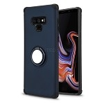 Samsung Galaxy Note 9 New Hybrid Case With Ring Holder Kickstand Blue