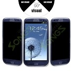 Samsung S3 Premium Tempered Glass Screen Protector (Privacy)