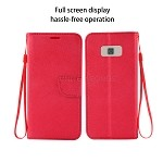 Samsung Galaxy S8 Plus Wallet Case Red