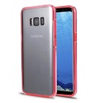 Samsung Galaxy S8 Front and Back Full Cover Case Pink