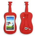 Samsung Galaxy Tab A 7.0 T280/3 Lite T110/T116/T230/T210 New Guitar Style Protective Case Red