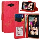 SKY Devices 4.5D Wallet Case Red