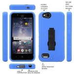 ZTE Tempo X N9137 Heavy Duty Case With Kickstand Blue/Black