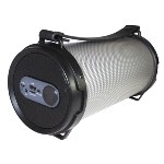 Rock It Play LED Portable Active Wireless Speaker Black