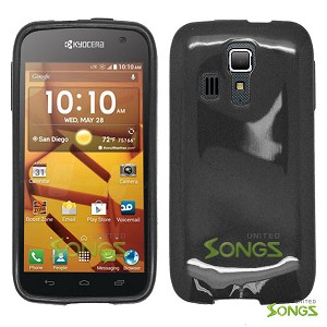 Kyocera Hydro ICON C6730(Boost Mobile) Hydro LIFE C6530(T-Mobile) TPU(Gel) Case Black