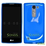 LG H443 H445 C70 Spirit Escape2 Logos H550F TPU(Gel) Case Blue