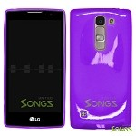 LG H443 H445 C70 Spirit Escape2 Logos H550F TPU(Gel) Case Purple