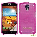 LG LS740 Volt F90 (Sprint/Boost Mobile/Virgin Mobile) TPU(Gel) Case High Pink