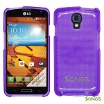 LG LS740 Volt F90 (Sprint/Boost Mobile/Virgin Mobile) TPU(Gel) Case Purple
