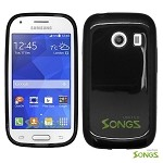 Samsung Galaxy Ace Style S765C (Unlocked) TPU(Gel) Case Black