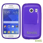 Samsung Galaxy Ace Style S765C (Unlocked) TPU(Gel) Case Purple