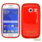 Samsung Galaxy Ace Style S765C (Unlocked) TPU(Gel) Case Red