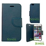 iPhone 6S Plus/6 Plus Wallet Case Blue