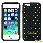 iPhone 5 Metal Stars Case Black/Black
