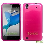 ZTE Quartz Z797C TPU(Gel) Case Pink