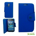 Kyocera  Wallet Case  Blue For  C6730/C6530