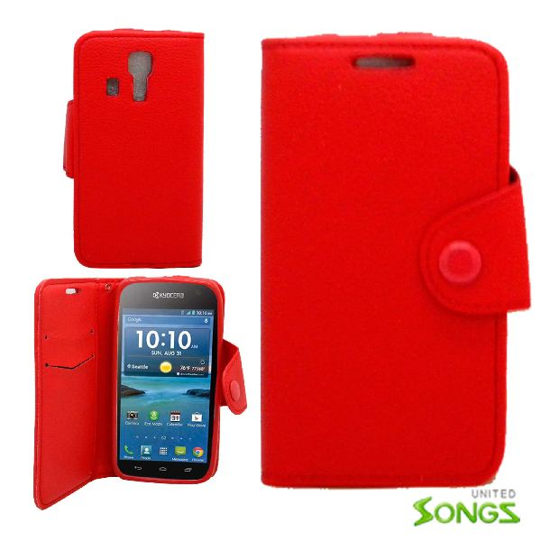 Kyocera  Wallet Case  Red For  C6730/C6530