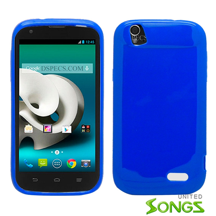 ZTE  GRANDX/Z777 TPU(Gel) Case Blue