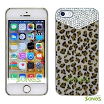 iPhone 5 5S  Luxury Fur with Bling Crystals Rhinestones Case