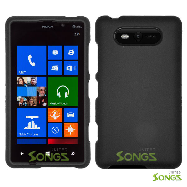 Nokia Lumia 820 Hard Regular Case Black