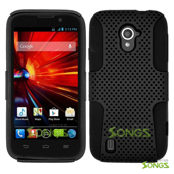 ZTE Source N9511 Mesh Hybrid Case Black/Black