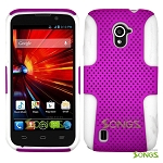 ZTE Source N9511 Mesh Hybrid Case Purple/White