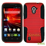 ZTE Source N9511 Mesh Hybrid Case Red/Black