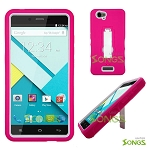 Blu Studio Energy Heavy Duty Case with Kickstand Pink/White