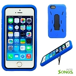 iPhone 6 Heavy Duty Case with Kickstand Blue/Black