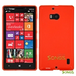 Nokia Lumia 929(Verizon) TPU(Gel) Case Red