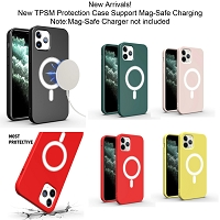 iPhone 12/12 Pro New TPSM Magnet-Safe Protection Case