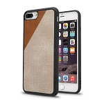 iPhone 8 Plus/7 Plus/6 Plus New Cloth Texture Style Case Gold