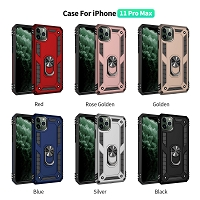 iPhone 11 Pro Max New RHD6 Hybrid Case With Ring