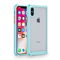 iPhone XS/X New TPE Protective Case Blue
