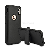 iPhone 12/12 Pro New Heavy Duty Case With Clip